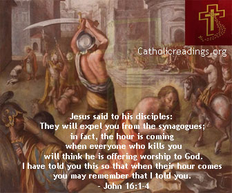 People Will Kill You and Think They are Offering Worship to God - John 16:1-4 - Bible Verse of the Day