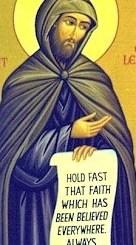 Saint Vincent of Lérins