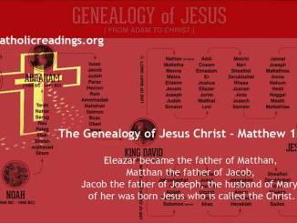 The Genealogy of Jesus Christ - Matthew 1:1-17 - Bible Verse of the Day