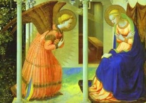 [Annunciation of the Blessed Virgin Mary]