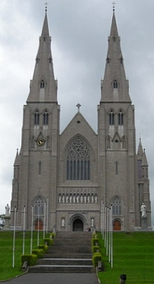 Saint Patrick's Cathedral, Archdiocese of Armagh, Ireland; photographed by Baronplantagent on 11 July 2007; swiped from Wikimedia Commomns