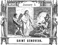 [Pictorial Half Hours with the Saints: Saint Genoveva]