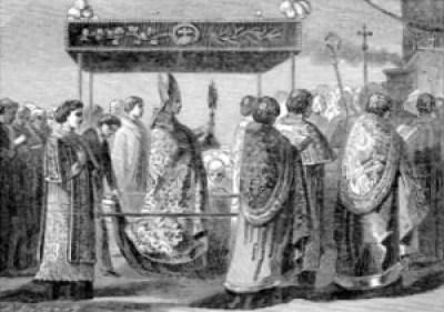 Pictorial Lives of the Saints: Corpus Christi