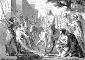 [Pictorial Lives of the Saints: Palm Sunday]