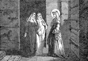 Pictorial Lives of the Saints: Saint Bertille, Abbess