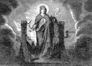 [Pictorial Lives of the Saints: Saint Catherine of Alexandria]