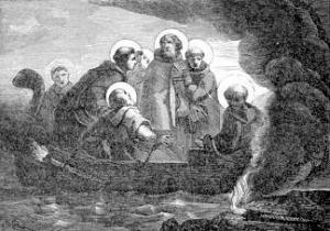 [Saint Liberatus, Abbot, and Six Monks]