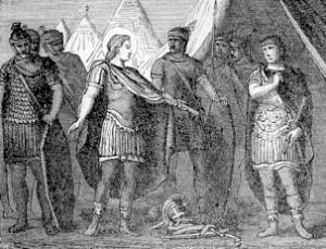 Pictorial Lives of the Saints: Saint Marcellus, The Centurion, Martyr
