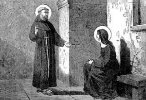 [Saint Peter of Alcantara]