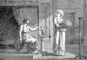 Saint Seraphia, Virgin and Martyr