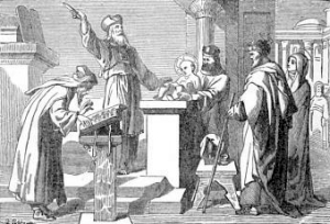 [Pictorial Lives of the Saints: The Circumcision of Our Lord]