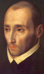 detail of a 16th century painting of Saint Juan de Ribera by Luis de Morales; swiped off the Wikipedia web site
