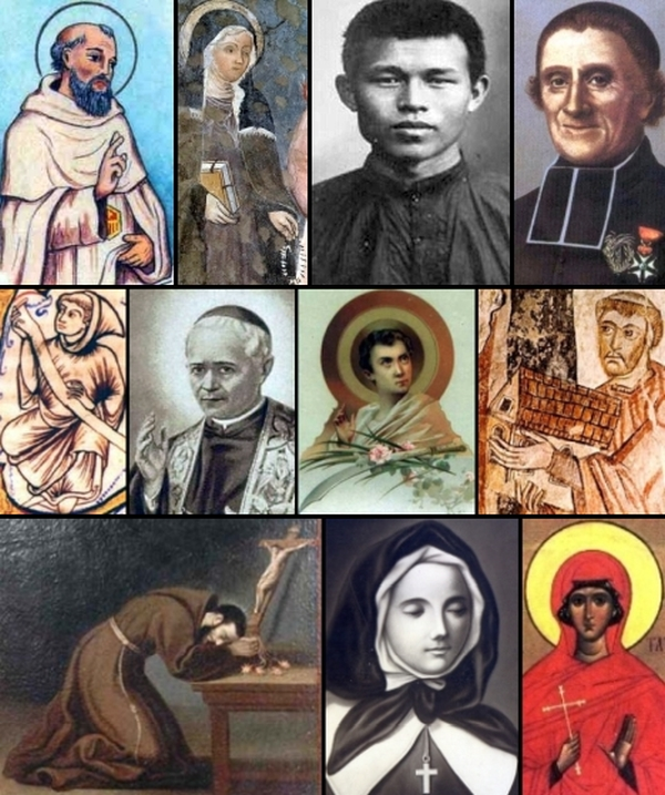 some of the saints and beati celebrated on 12 January