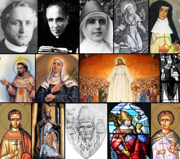 some of the saints and beati celebrated on 13 January