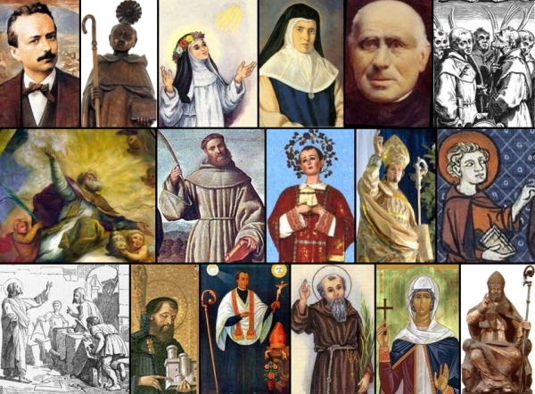 some of the saints and beati celebrated on 16 January