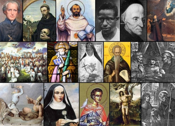 some of the saints and beati celebrated on 20 January