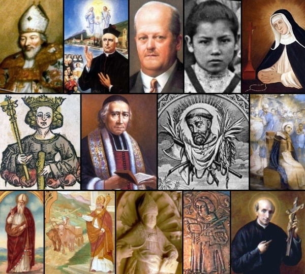 some of the saints and beati celebrated on 22 January
