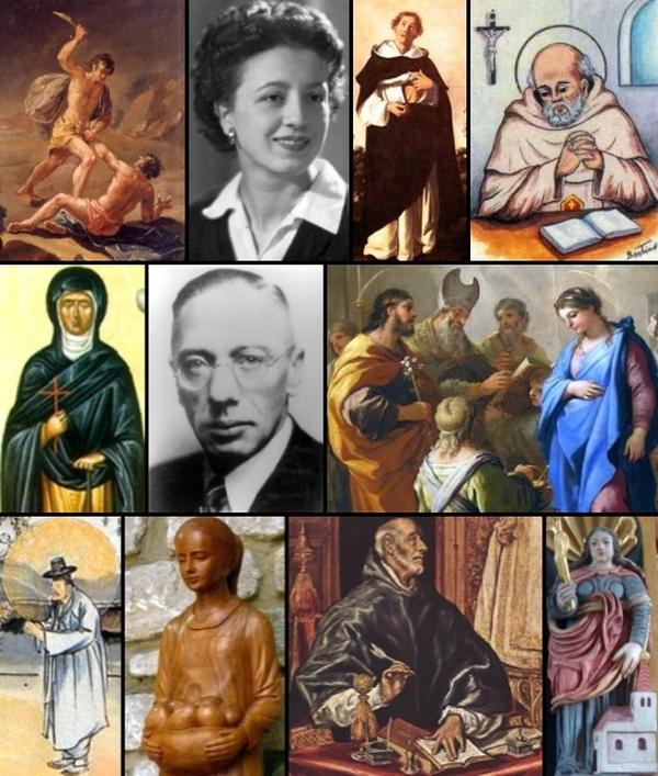 some of the saints and beati who are celebrated on 23 January