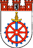 coat of arms for Weissensee, Germany