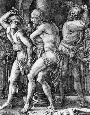 Flagellation, by Albrecht Durer