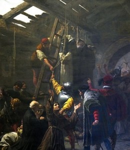 Martyrs of Gorkum, by Cesare Fracassino, 1838-1868, Vatican City