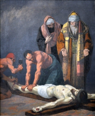 Eleventh Station - Jesus is Nailed to the Cross