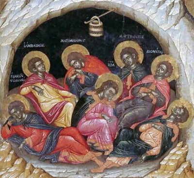Seven Sleepers of the Ephesos, by Emmanuel Tzanes