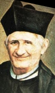 detail from a portrait of Blessed Luca Passi; swiped off the web site of the Institute of the Teaching Sisters of Saint Dorothy