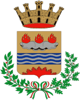 coat of arms for Eboli, Italy