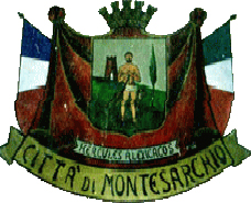 coat of arms for Montesarchio, Italy