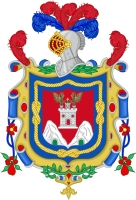 coat of arms for San Francisco de Quito, Ecuador