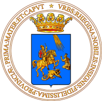 coat of arms for Reggio Calabria, Italy