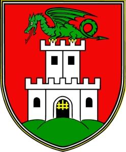 coat of arms of Ljubljana, Slovenia
