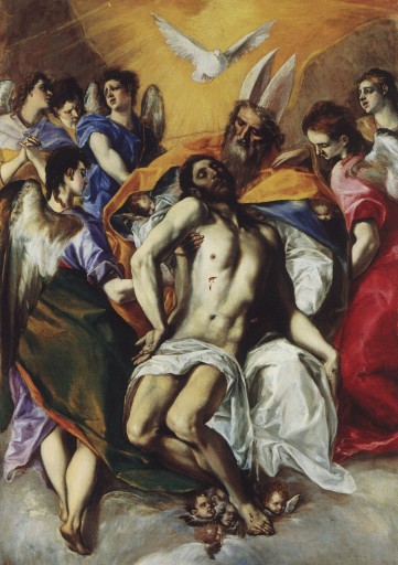 The Trinity, by El Greco