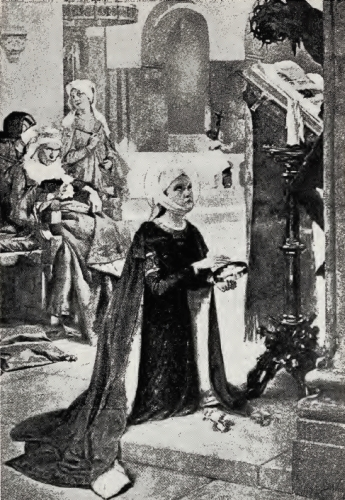 The Child Saint Elizabeth at Prayer