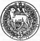 New Catholic Dictionary illustration of the Agnus Dei