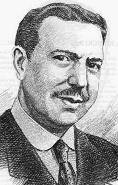 illustration of Blessed Ángel Ramos Velázquez, date and artist unknown; swiped from Santi e Beati