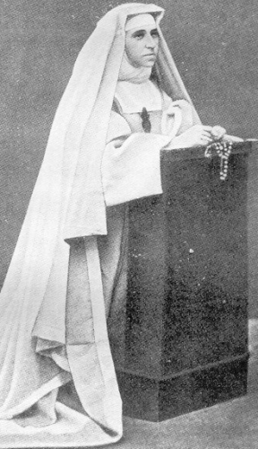 Blessed Émilie d'Oultremont d'Hoogvorst, date, location and photographer unknown; swiped from Wikimedia Commons