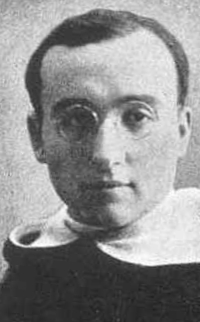 Blessed Constantino Fernández Álvarez, date, location and photographer unknown; swiped from Santi e Beati