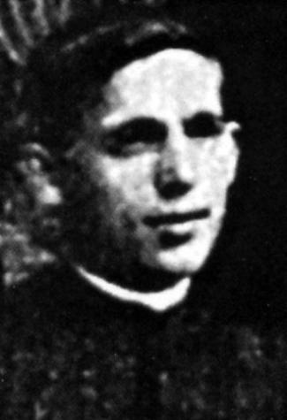 Blessed Juan Mesonero Huerta, date and photographer unknown; swiped from Santi e Beati