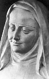 statue of Blessed Marie of the Incarnation Guyart; artist unknown, photographer unknown