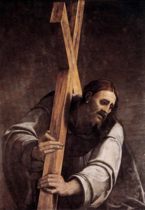 detail of the painting 'Christ Carrying the Cross', by Sebastiano del Piombo, early 16th century; Museum of Fine Arts, Budapest, Hungary; swiped from Wikimedia Commons