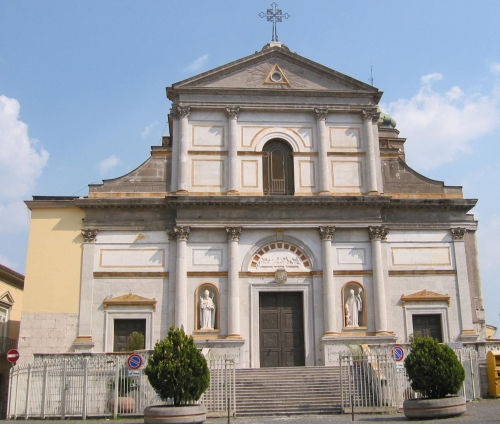 the cathedral of Avellino, Italy