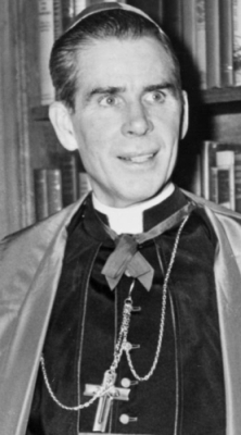 Bishop Fulton J Sheen, 1952