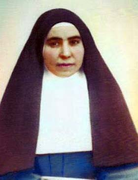 photograph of Blessed Miquela Rul·Làn Ribot, date, location and photographer unknown; swiped from Santi e Beati