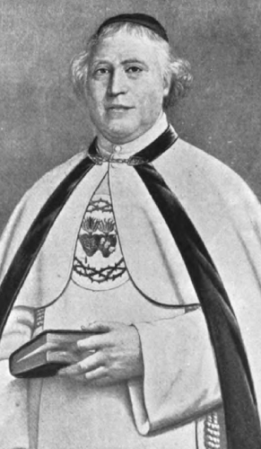 Father Marie Joseph Coudrin, Founder of the Congregation of the Sacred Hearts (Picpus Fathers)