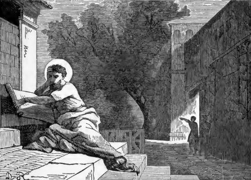 Pictorial Lives of the Saints illustration for Saint Alexius