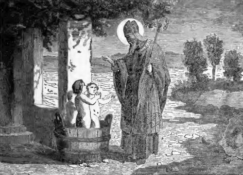 Pictorial Lives of the Saints illustration for Saint Nicholas of Bari