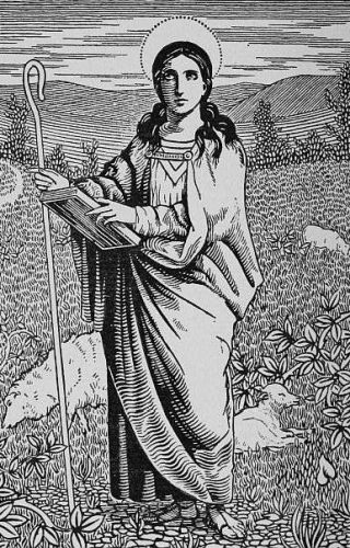 Saint Bridget of Kildare