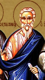 Saint Crescens of Galatia icon